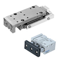 Guided actuators